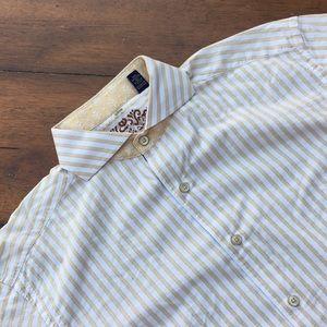 Robert Graham Striped Men's Shirt size L